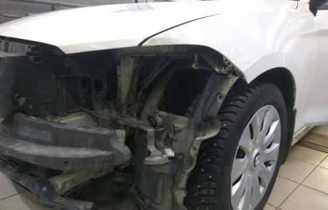 Кузовной ремонт, пример 1